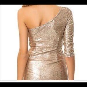 BB Dakota Gold Sequin Dress